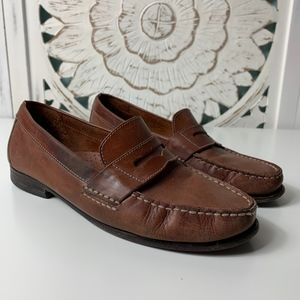 Cole Haan NeoLite Brown Leather Womans Loafers, 7.